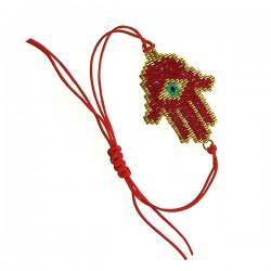 Hamsa Red Bracelet