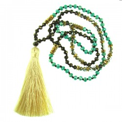 NK with Tassel Green