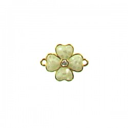 Brass Flower 12mm