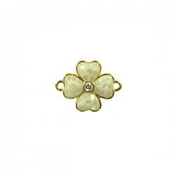 Brass Flower 12mm
